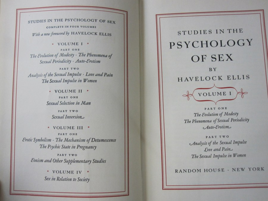 sex and love psychology
