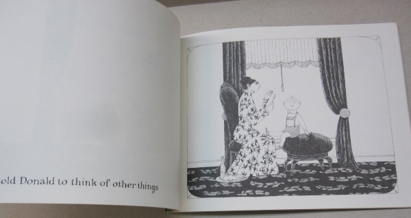 Donald Has A Difficulty Edward Gorey Peter F Neumeyer