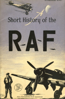 A Short History of the Royal Air Force. Ellison Hawks.