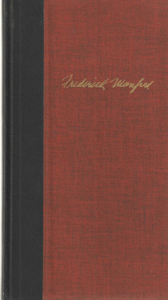 Winter Count Poems 1934-1965. Frederick Manfred.