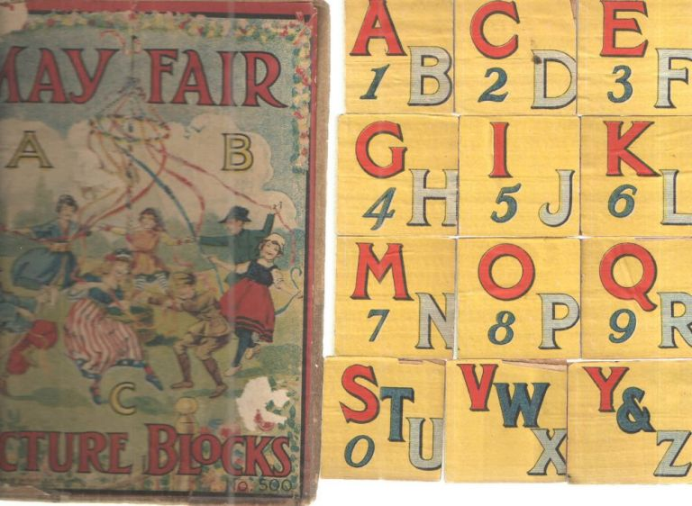 May Fair ABC Picture Blocks.