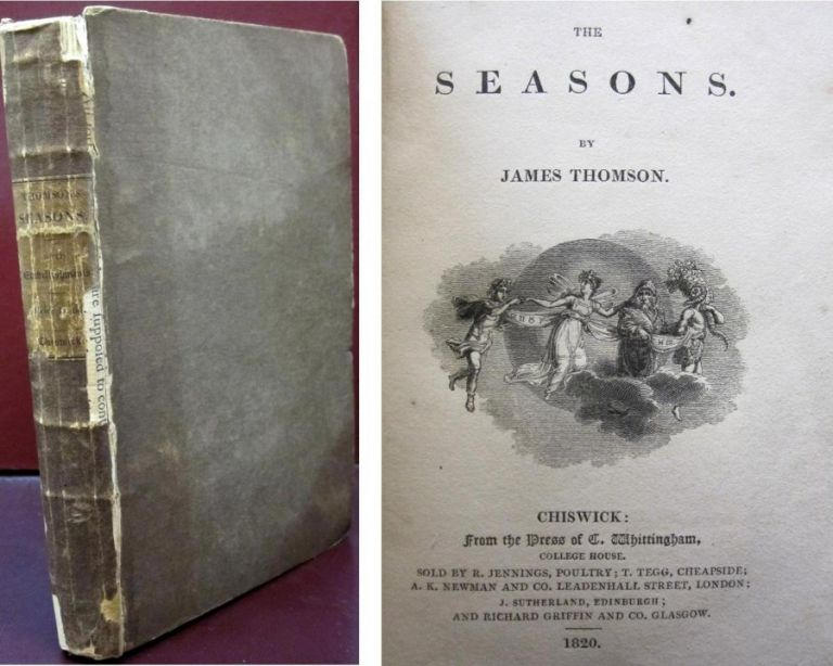 The Seasons. James Thomson.
