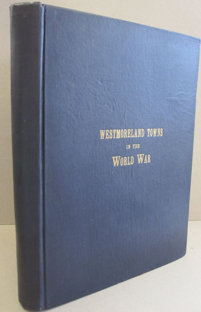 Westmoreland Towns in the World War.