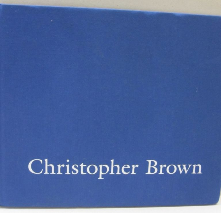 Christopher Brown The Waters Sliding.
