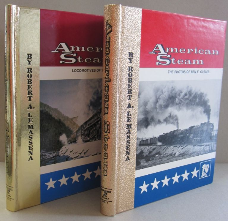 American Steam; TWO VOLUME SET. Robert A. LeMassena.