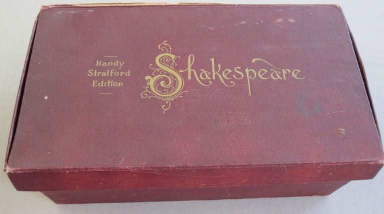 Complete Works of William Shakespeare; 13 VOLUME SET. William Shakespeare - Text, H G. Clark, W A. Wright.