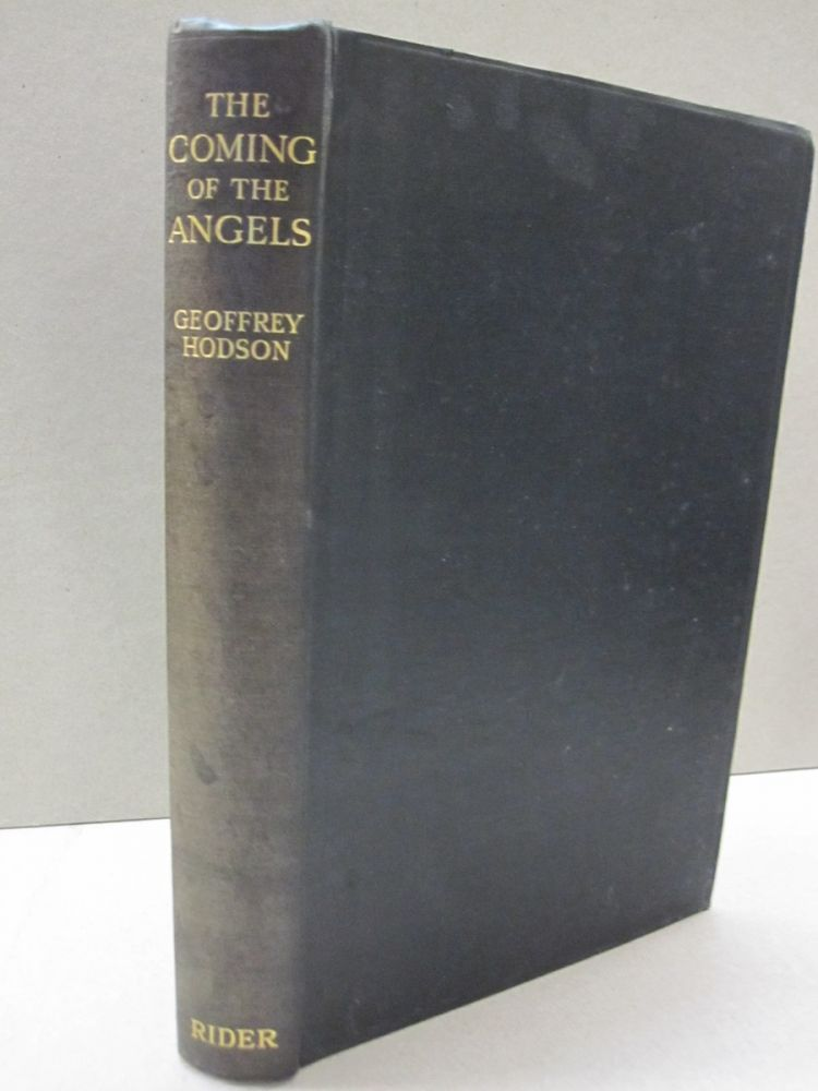The Coming of the Angels. Geoffrey Hodson.