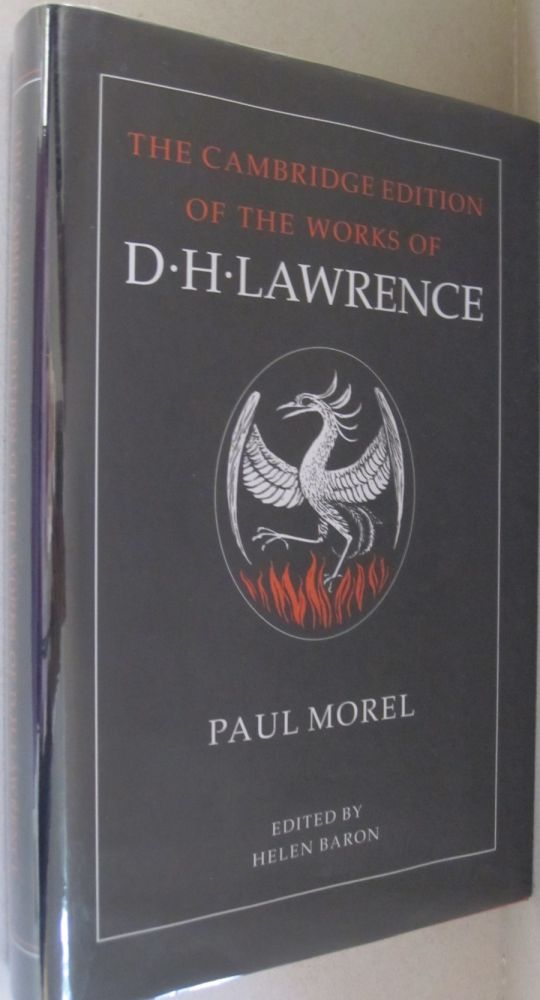 Paul Morel (The Cambridge Edition of the Works of D. H. Lawrence). D. H. Lawrence.
