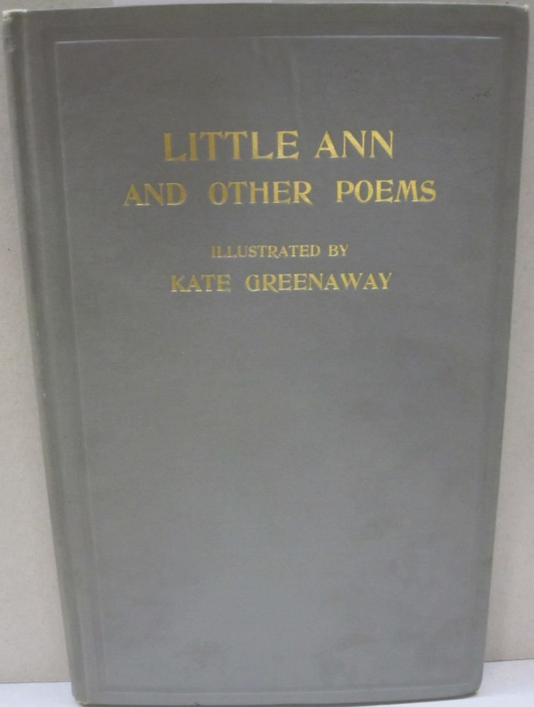 Little Ann and Other Poems. Jane, Ann Taylor.