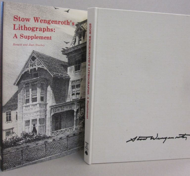 Stow Wengenroth's Lithographs A Supplement. Ronald and Joan Stuckey, Albert Reese, Ronald, Joan Stuckey.