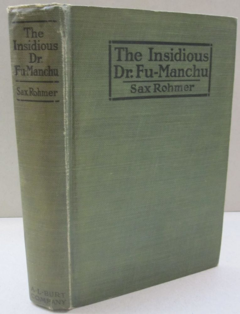 55d727cdbf527 The Insidious Dr. Fu-Manchu Photoplay by Sax Rohmer on Midway Book Store