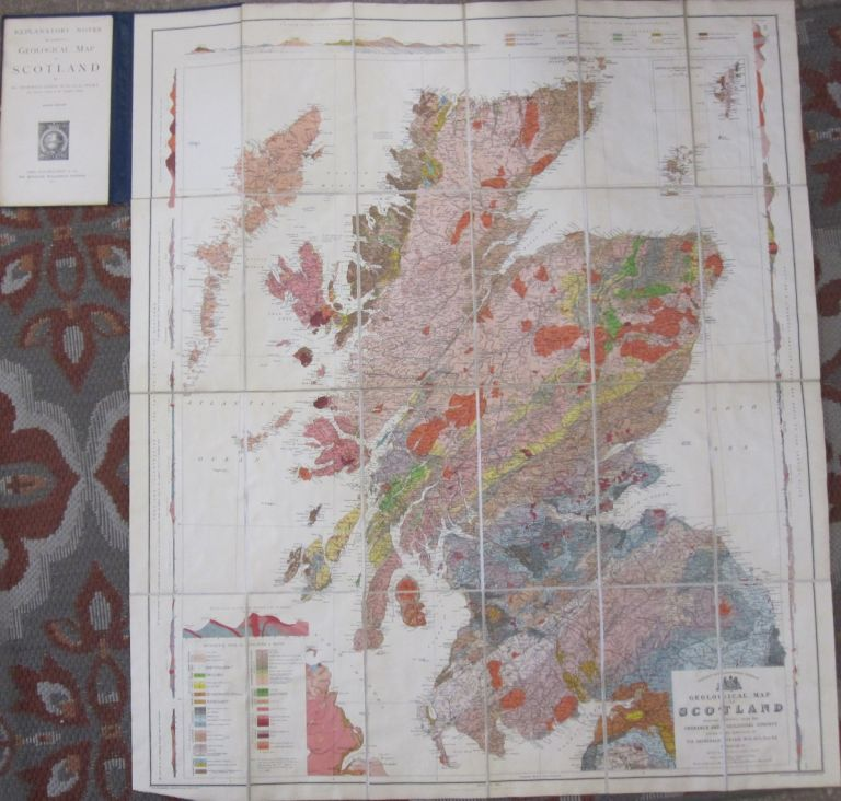 Geological Map of Scotland. Archibald Geikie.