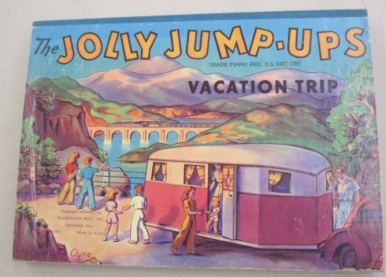 The Jolly Jump-Ups Vacation Trip. Geraldyne.