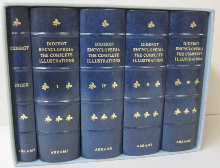 Diderot Encyclopedia The Complete Illustrations 1762-1777. Diderot.