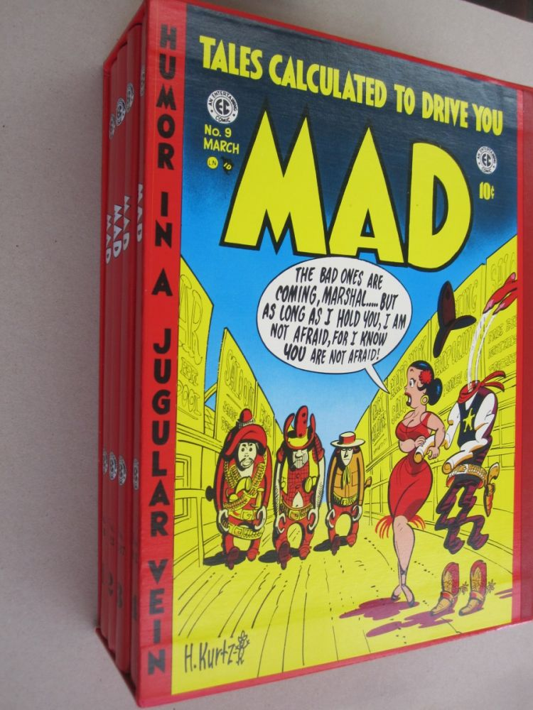 Tales Calculated to Drive you Mad (4 volume set). Russ Cochran, William Gaines, John Benson, Bill Mason, Bhob Stewart.