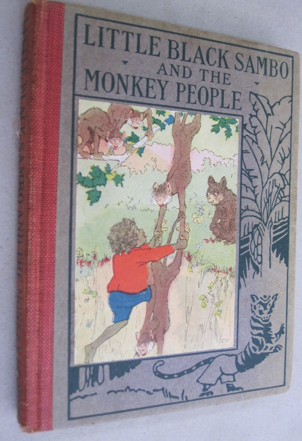 Little Black Sambo and the Monkey People. Frank Ver Beck.