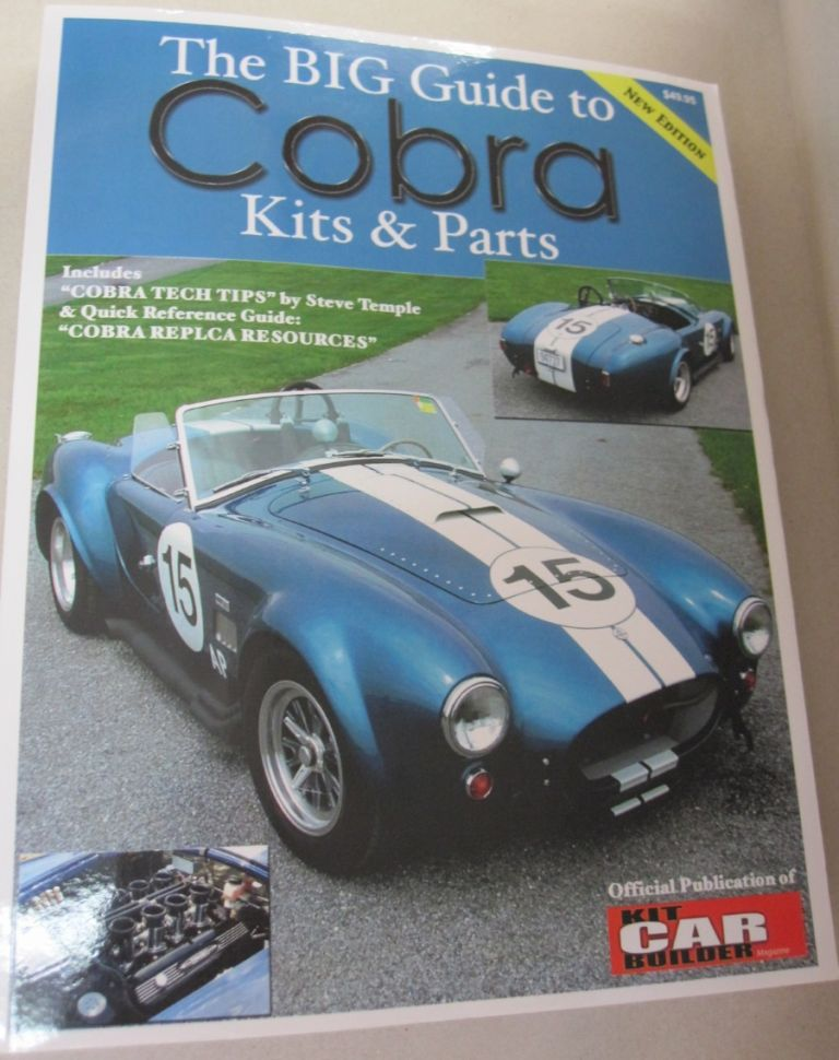 The Big Guide to Cobra Kits & Parts New Edition. Jim Youngs.