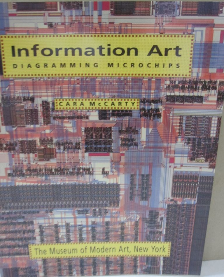 Information Art; Diagramming Microchips. Cara McCarty.