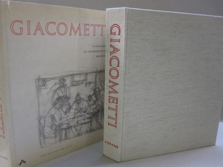 Giacometti; A Sketchbook of Interpretive Drawings. Luigi Carluccio.