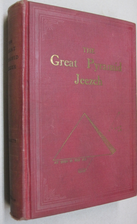 The Great Pyramid Jeezeh. Louis P. McCarty.