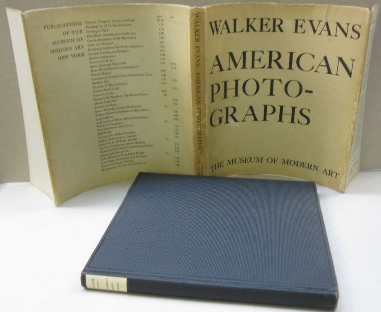 American Photographs. Walker Evans, Lincoln Kirstein, essay.