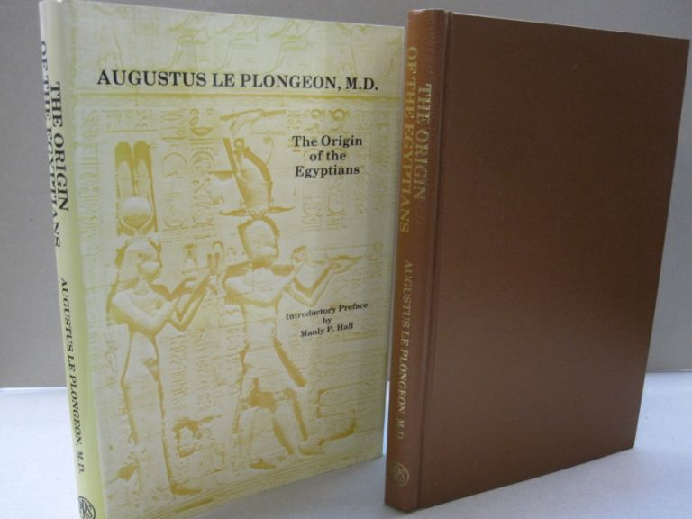 Origins of the Egyptians. Augustus Le Plongeon, Manly P. Hall, introduction.