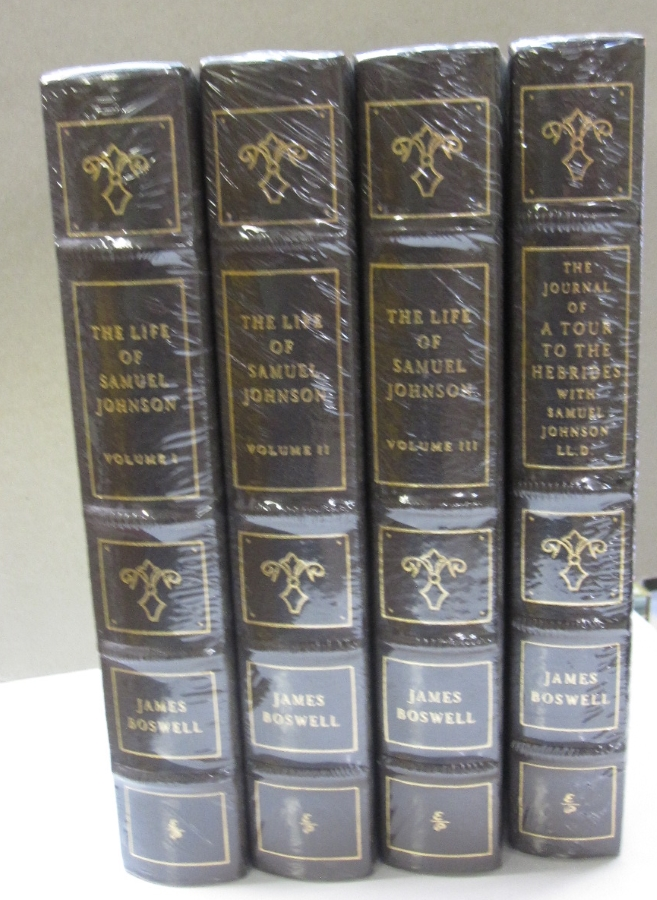 The Life of Samuel Johnson Including A Tour to the Herbides with Samuel Johnson 4 volume set. James Boswell.