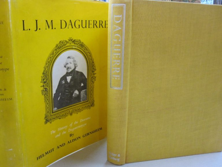 L.J.M. Daguerre; The History of the Diorama and the Daguerreotype. Helmut, Alison Gernsheim.