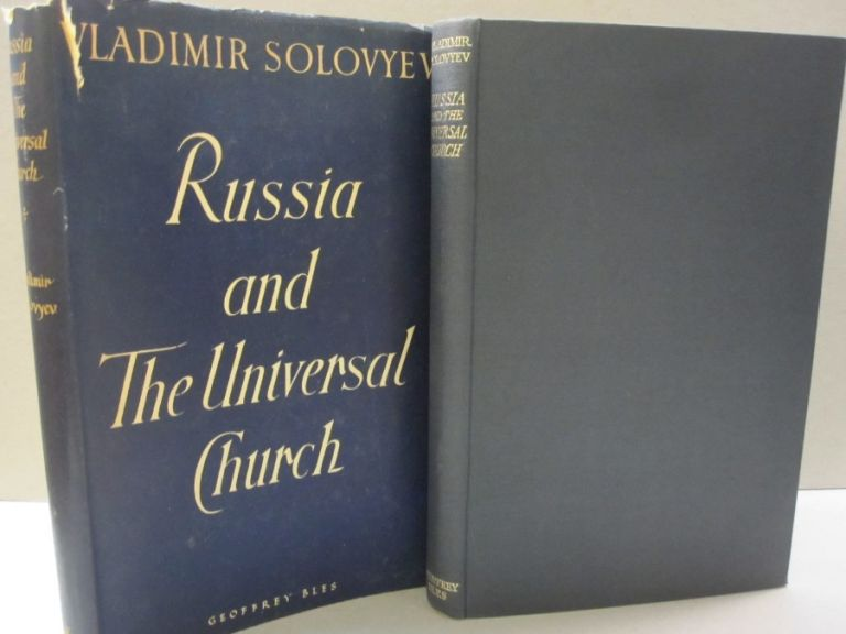 Russia and the Universal Church. Vladimir Solovyev.