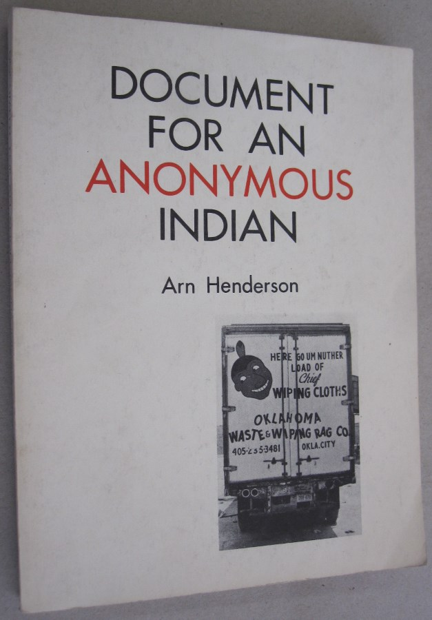 Document for an Anonymous Indian. Arn Henderson.