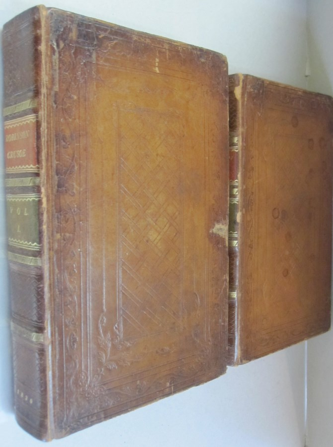 The Life and Adventures of Robinson Crusoe in two volumes. Daniel Defoe.