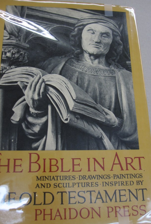 The Bible in Art Miniatures Paintings Drawings and Sculptures Inspired by The Old Testament. H. Heimann, Marcel Brion, notes, introduction.