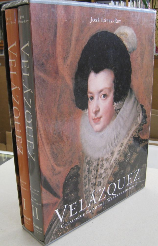 Velazquez/Painter of Painters (Vol.1); Catalogue Raisonne(Vol.2). Jose Lopez-Rey.