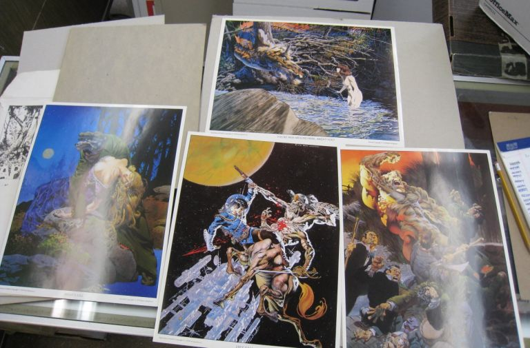 Apparitions 4 Full Color Plates. Berni Wrightson.