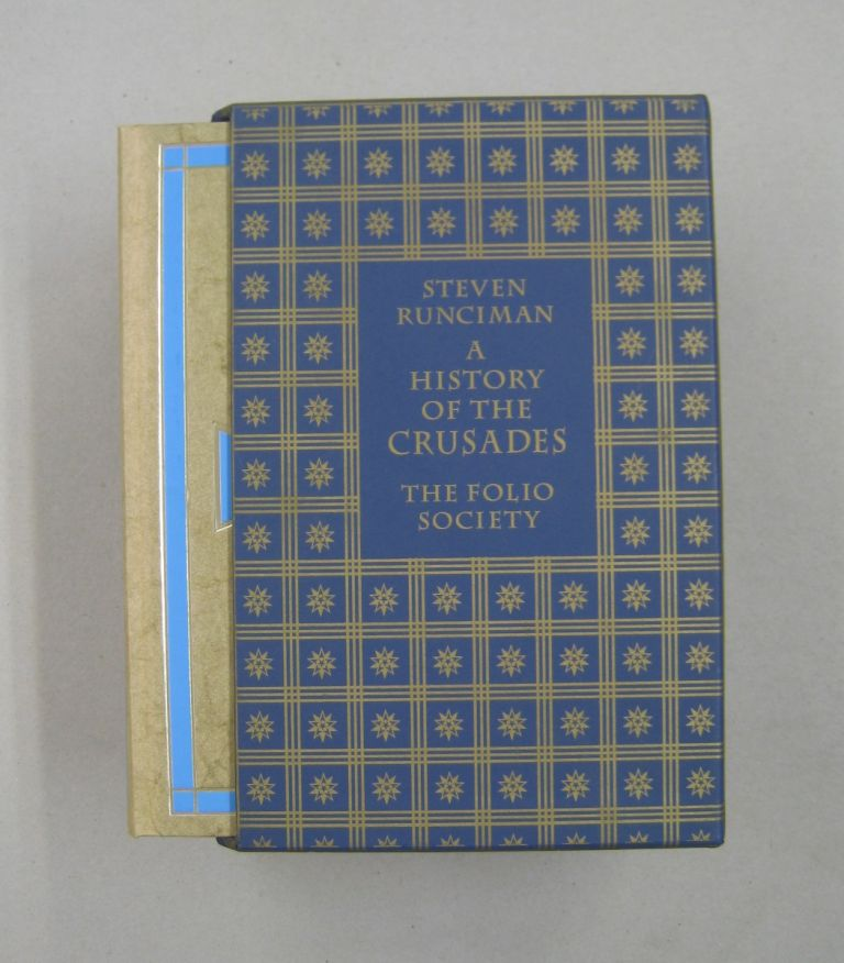 A History of the Crusades 3 volume set: The First Crusade, The Kingdom of Jerusalem, The Kingdom of Acre. Steven Runciman.