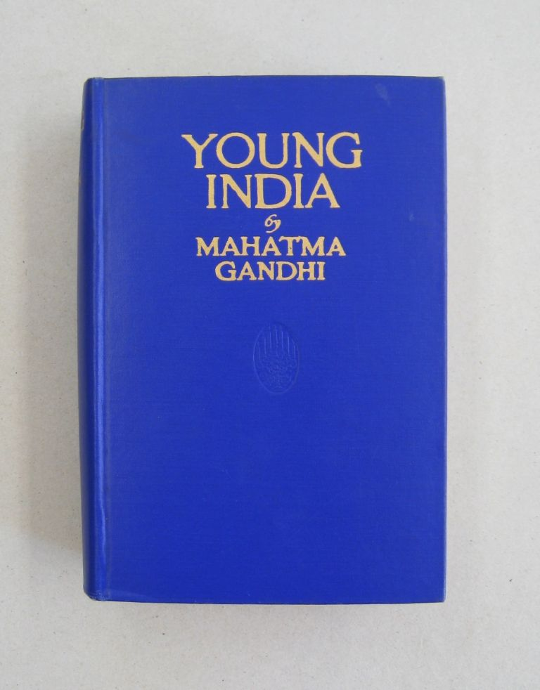 Young India 1919-1922; With a Brief Sketch of the Non-Co-Operation Movement by Babu Rajendra Prasad. Mahatma Gandhi.