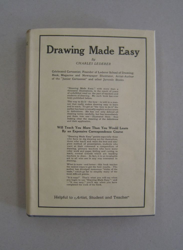 Drawing Made Easy; A Book that can Teach you how to Draw. Charles Lederer.