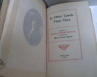 In Other Lands Than Ours; A Series of Letters from Abroad. Maud Gage Baum