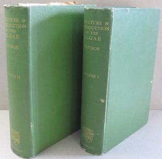 The Structure and Reproduction of the Algae Volumes 1 and 2; TWO VOLUME SET. F E. Fritsch