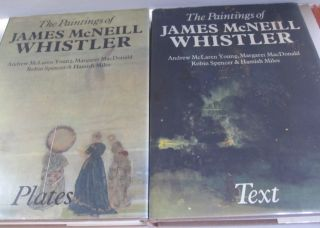 The Paintings of James McNeill Whistler; TWO VOLUMES. Andrew Maclaren Young, Margaret F....