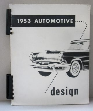 1953 Automotive Design