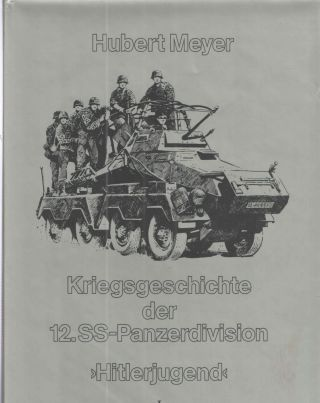Kiregsgeschichte der 12.SS-Panzerdivision Hitlerjugend - 2 Volume Set; Band 1 and Band II