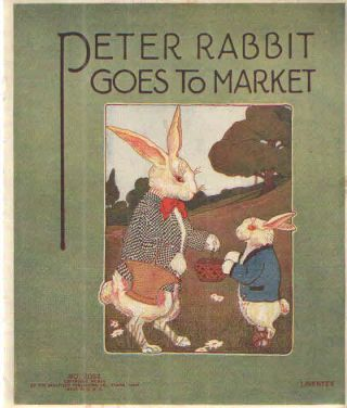 Peter Rabbit Goes to Market.