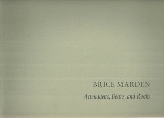 Brice Marden Attendants, Bears, and Rocks. Brice Marden