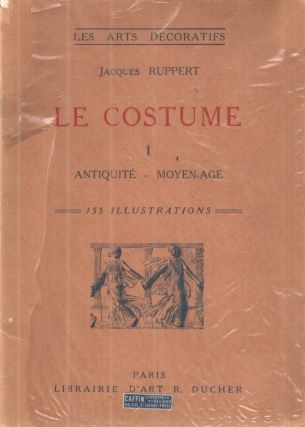 Le Costume. Jacques Ruppert