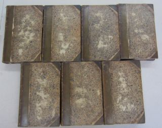Plutarch Seven volume set. Plutarch with, John Langhorne, William Langhore