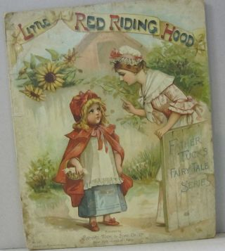 Little Red Riding Hood; Father Tuck's Fairy Tale Series