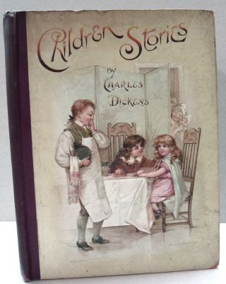 Children Stories Retold by the Grand-Daughter and Others. Charles Dickens, Edric Vredenburg