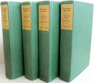 The Facetious Nights of Straparola; Four Volume set. Straparola, first translation into, W G. Waters
