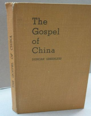 The Gospel of China. Duncan Greenlees